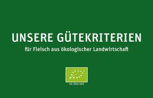 Naturverbund: Bio Gütekriterien
