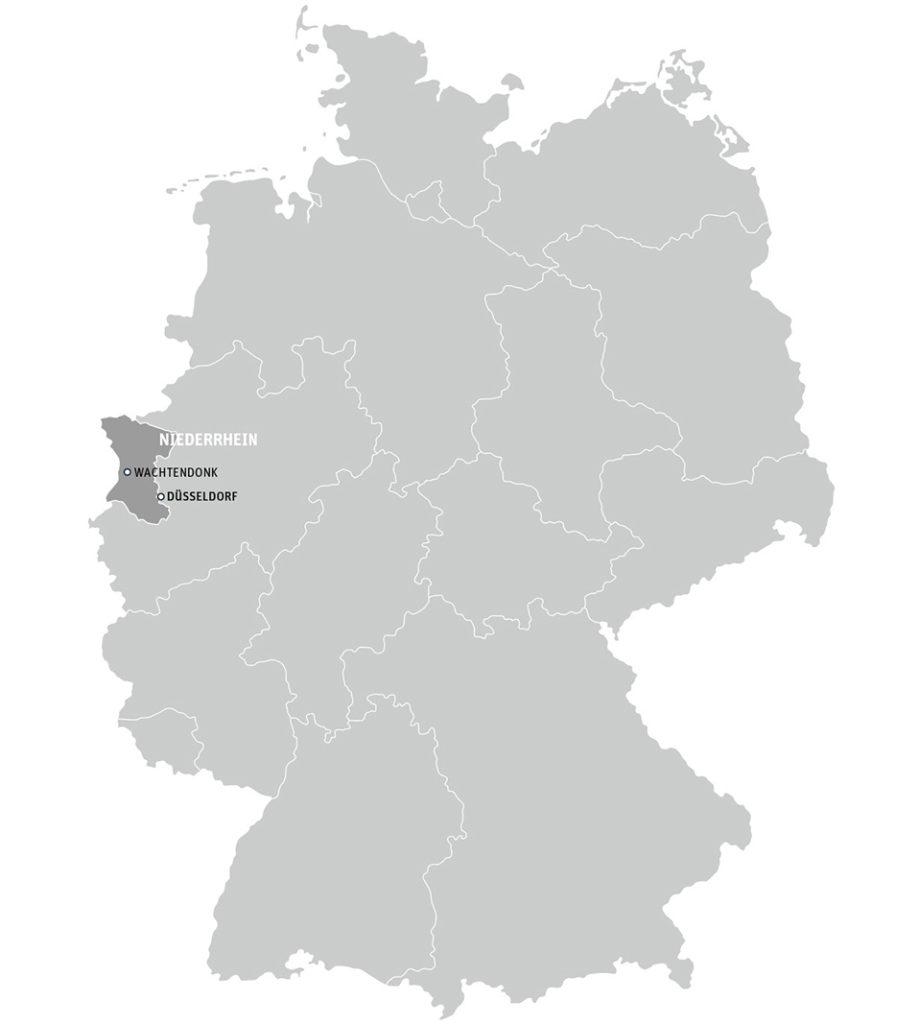 Niederrheinkarte