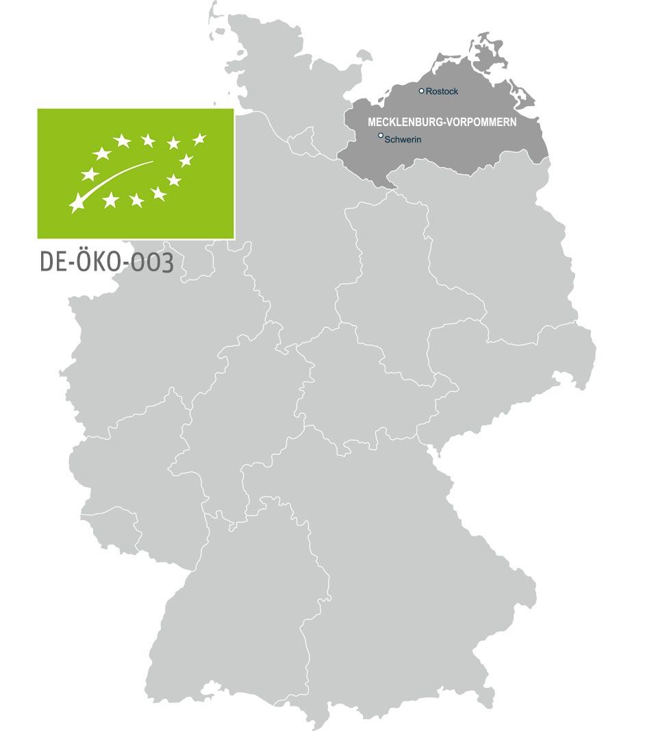 Landkarte Bio Landwirte